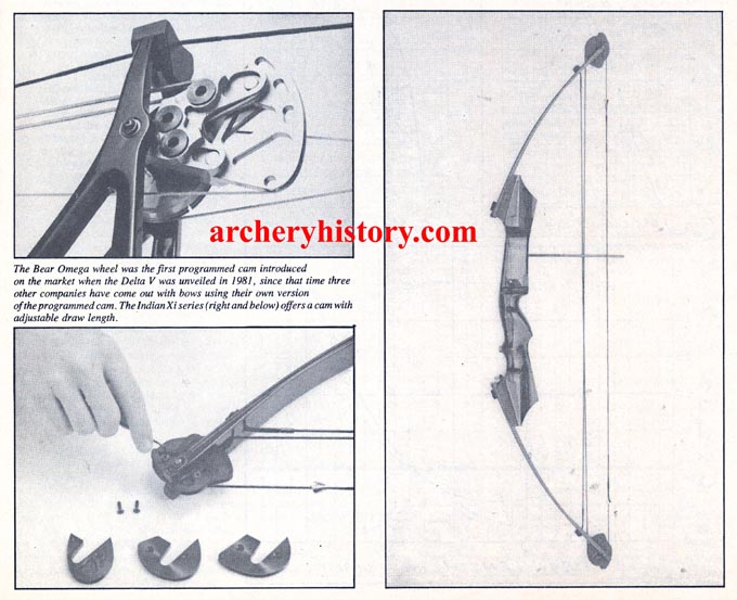 Bear Omega Indian X Series Archery World September 1982
