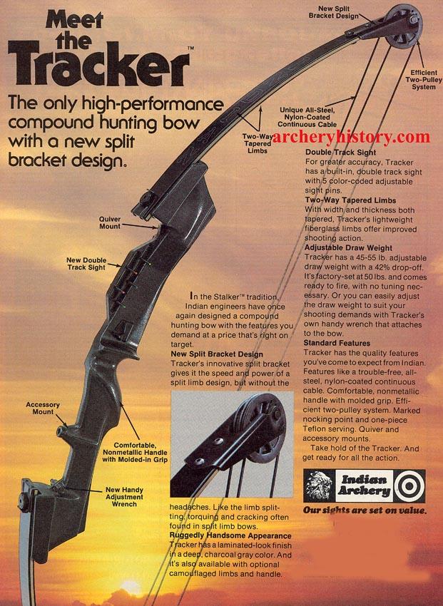 Indian Archery Tracker Bow Amp Arrow August 1980